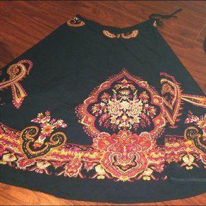 Norm Thompson Boho style Skirt
